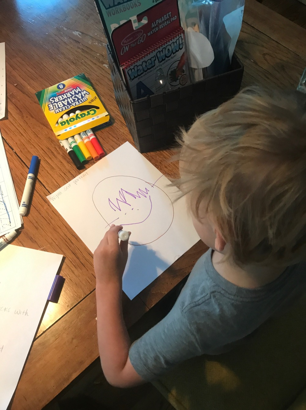 homeschool pre-school and pre-k art project curriculum